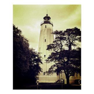 Sandy Hook Lighthouse Poster