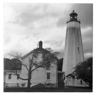 Sandy Hook Lighthouse Tile