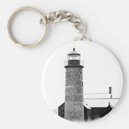 Sandy Neck Lighthouse Key Chain