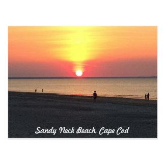 Sandy Neck Sunset, Cape Cod Postcard