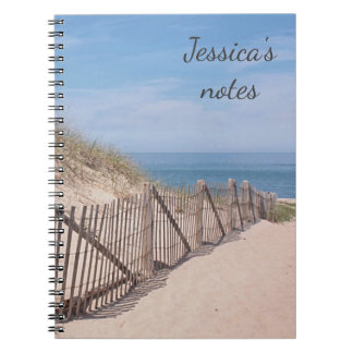 Sandy path to the beach at Race Point Notebooks