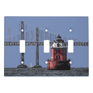 SANDY POINT LIGHT LIGHT SWITCH COVER