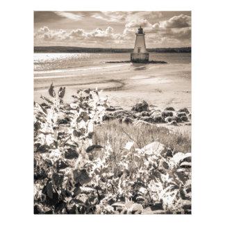 Sandy Point Lighthouse Letterhead