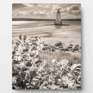 Sandy Point Lighthouse Plaque