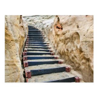 Sandy Stairway Postcard