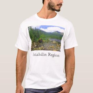Sandy Stream Pond moose, Katahdin Region T-Shirt