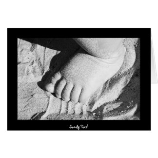 Sandy Toes! Card