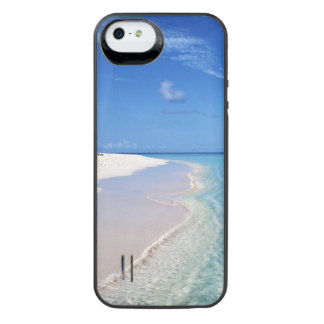 Sandy, tropical beach battery case. iPhone SE/5/5s battery case