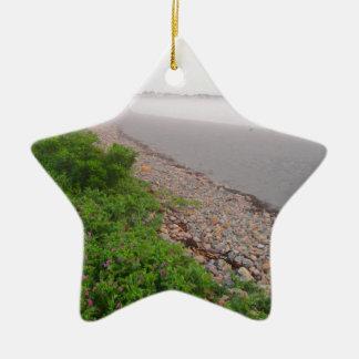 Sandy York Beach Ceramic Star Ornament