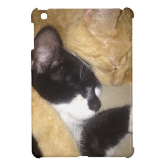 Sandybean and Foofy snuggling for nap time Cover For The iPad Mini