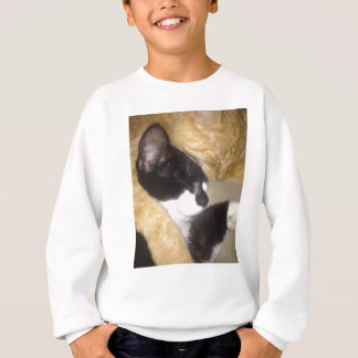 Sandybean and Foofy snuggling for nap time Sweatshirt