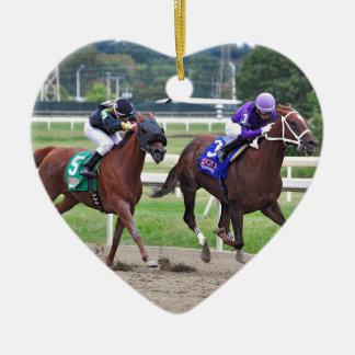 Sandy's Song - Silvestre Gonzalez Ceramic Heart Ornament