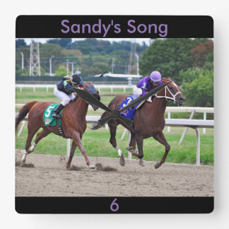 Sandy's Song - Silvestre Gonzalez Wall Clock