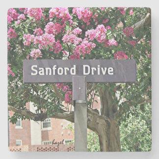 Sanford Drive Flowers Athens Georgia Coaster. Stone Coaster
