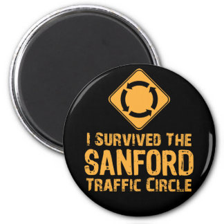 Sanford Traffic Circle Magnet