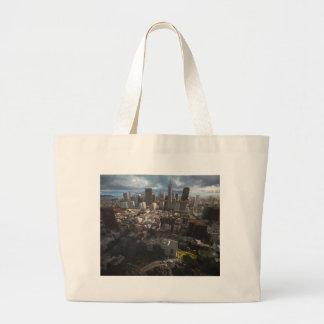 SanFrancisco3 Large Tote Bag