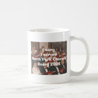 Sang & served coffee mug