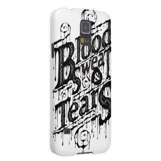 Sang, sueur, et larmes - caisse de la galaxie S5 Protection Galaxy S5