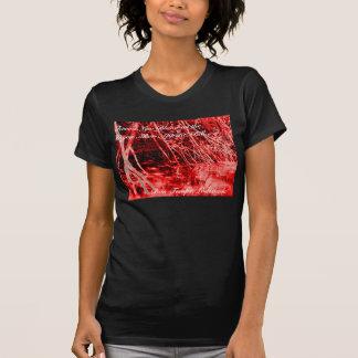 Sang vrai sur le bayou t-shirt