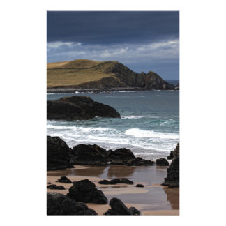 Sango Bay, Sutherland, Scotland Personalized Stationery