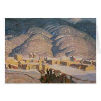 Sangre De Cristo Mountains Card