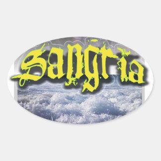 Sangria Sticker