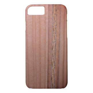 Sangria Wood Grain Pattern Case-Mate iPhone Case