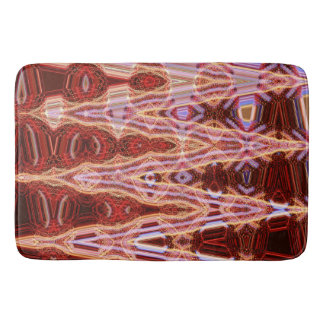 Sanguine Point Bath Mat by Artist C.L. Brown
