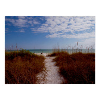 Sanibel Beach Poster