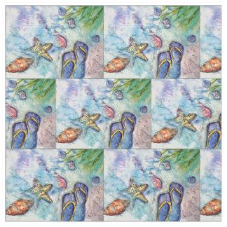 Sanibel Flip Flops Sandals Fabric