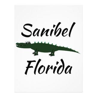 Sanibel Florida Custom Letterhead
