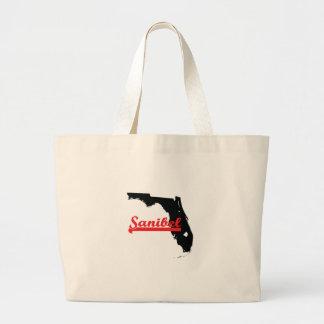 sanibel Florida Large Tote Bag