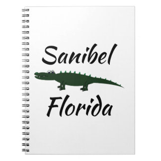 Sanibel Florida Spiral Note Books