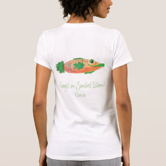Sanibel Florida Whimsical Fish Tee