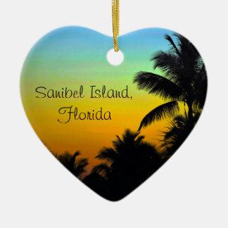 Sanibel Heart Ornament