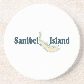 Sanibel Island. Beverage Coaster