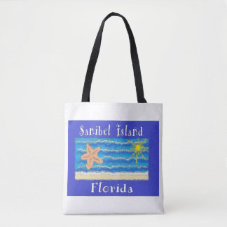 Sanibel Island, Florida Beach Bag