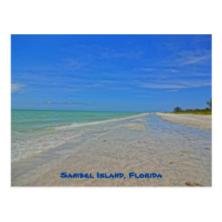 Sanibel Island Florida - Gulf of Mexico Shoreline Postcard