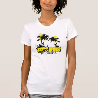 Sanibel Island Florida ladies palm tree tank
