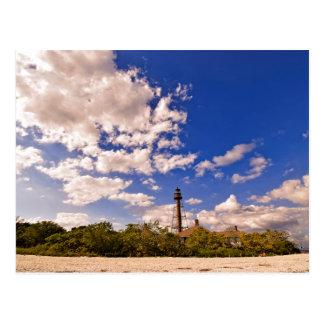 Sanibel Island, Florida - Lighthouse Postcard