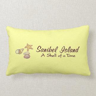 Sanibel Island, Florida Shells Lumbar Pillow
