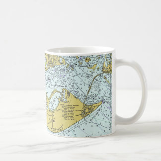 Sanibel Island Florida vintage map Coffee Mug