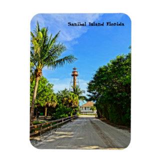 Sanibel Island Lighthouse Florida Gulf Coast Rectangular Photo Magnet