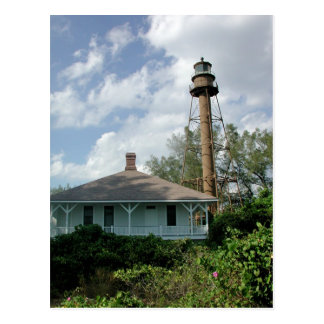 Sanibel Island Lighthouse Postcard