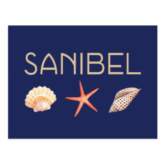 Sanibel Island Seashells Postcard