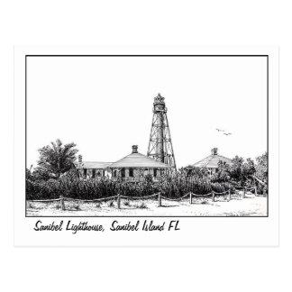 Sanibel lIghthouse postcard