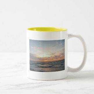 Sanibel on my mind... Two-Tone coffee mug