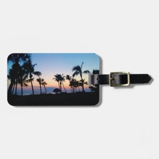 Sanibel Sunset Luggage Tag