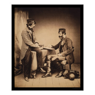 Sanitary Commission Crimean War 1855 Poster