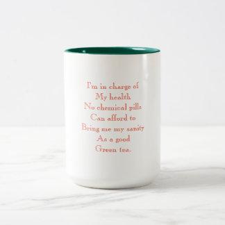 SANITY Two-Tone COFFEE MUG